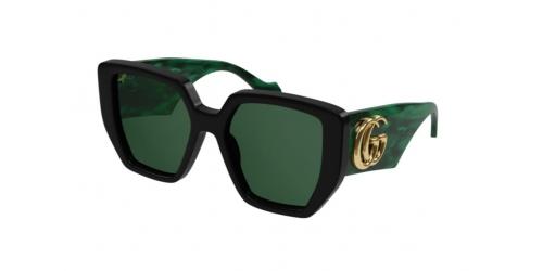 Gucci Gucci GUCCI LOGO GG0956S GG 0956S 001 Green