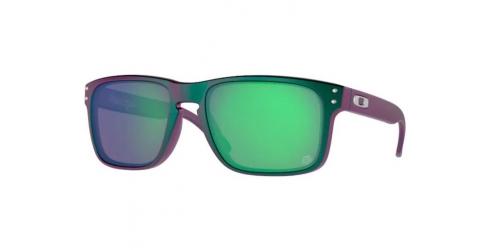 HOLBROOK OO 9102 9102 T4 Matte Purple/Green Colour Shift