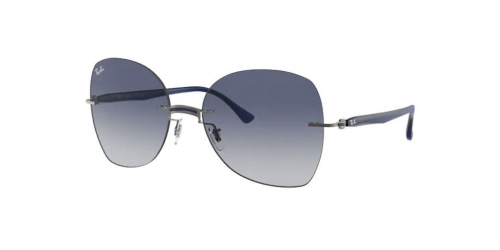 Ray-Ban Ray-Ban RB8066 004/4L Blue on Silver
