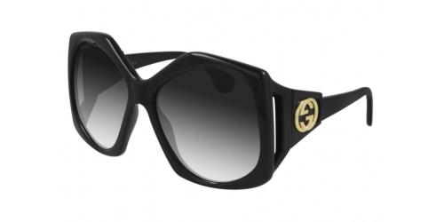 Gucci Gucci GUCCI LOGO GG0875S GG 0875S 001 Black