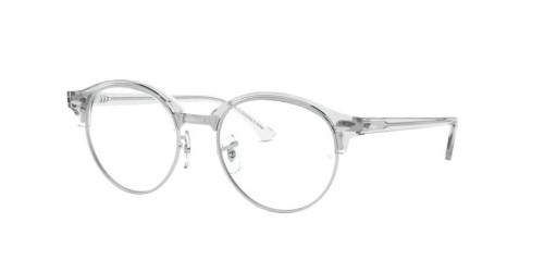 Ray-Ban Ray-Ban CLUBROUND RX4246V RX 4246V 2001 White Transparent