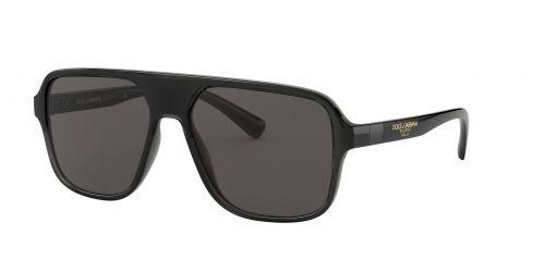 Dolce & Gabbana Dolce & Gabbana DG6134 325787 Transparent Grey/black
