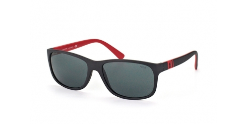 Polo Ralph Lauren PH4109 524787 Matte Black/Red