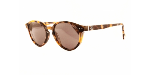 Moncler ML0012/S ML 0012/S 52A Light Havana