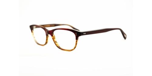ba8f8a40653 Mens Jaeger or Oliver Peoples Red Glasses