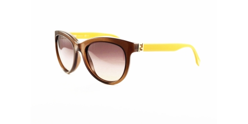 Fendi FF0006/S 7QQED Brown/Yellow
