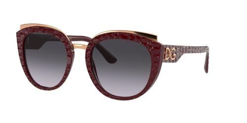 Dolce & Gabbana Dolce & Gabbana DG4383 32898G Bordeaux Texture Cocco