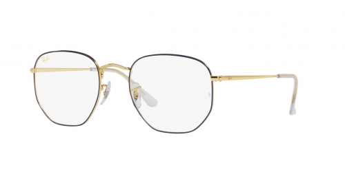 Ray-Ban Ray-Ban RX6448 3105 Blue On Legend Gold