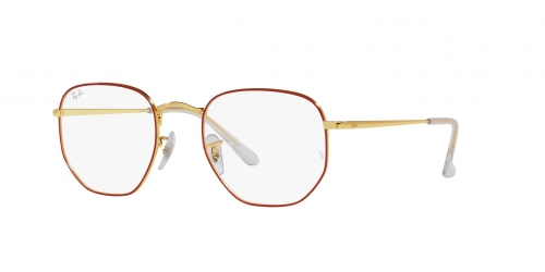 Ray-Ban Ray-Ban RX6448 3106 Red On Legend Gold