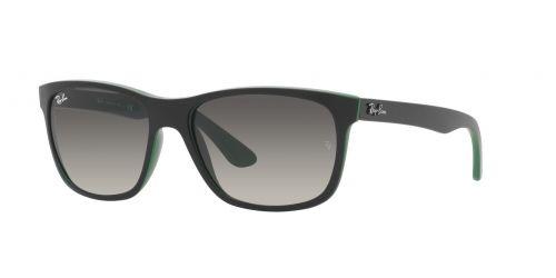RB4181 RB 4181 656811 Matte Black On Green