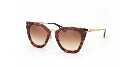 Prada PR 53SS UE0-0A6 SPOTTED BROWN PINK
