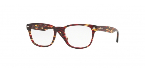 Ray-Ban RX5359 5710 Spotted Red/Brown/Yellow