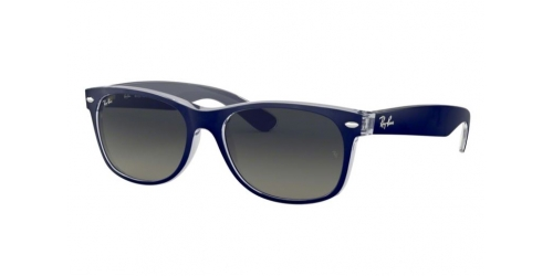 Wayfarer RB2132 Wayfarer RB 2132 605371 Matte Blue on Trans