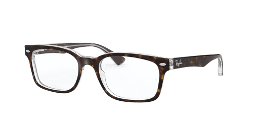 Ray-Ban Ray-Ban RX5286 5082 Top Havana on Transparent