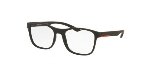 Prada Linea Rossa PS08GV DG01O1 Black Rubber