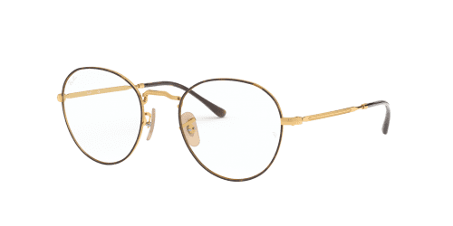 Ray-Ban Ray-Ban RX3582V RX 3582V 2945 Gold Top on Havana