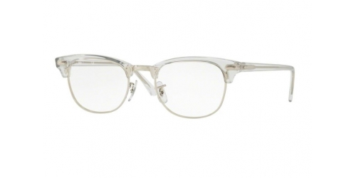 Ray-Ban RX5154 2001 White Transparent