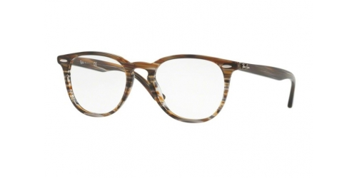 Ray-Ban RX7159 5749 Brown Grey Striped