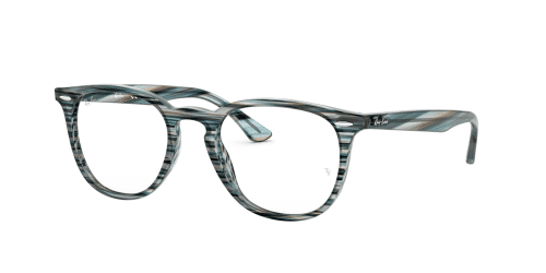 Ray-Ban Ray-Ban RX7159 5750 Blue Grey Striped