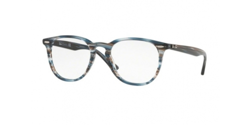 Ray-Ban RX7159 5750 Blue Grey Striped