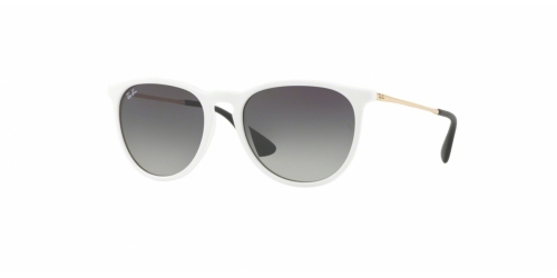 Ray-Ban ERIKA RB4171 631411 Shiny White SP Red