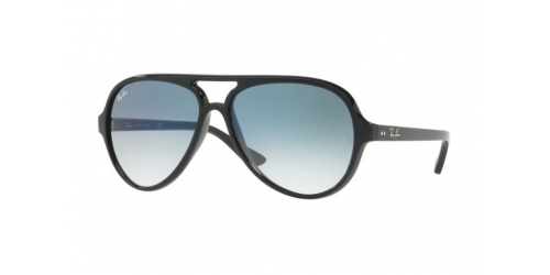 Ray-Ban Cats 5000 RB 4125 601/3F Black