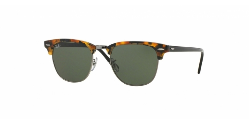 Ray-Ban Clubmaster RB3016 1157 Spotted Black Havana