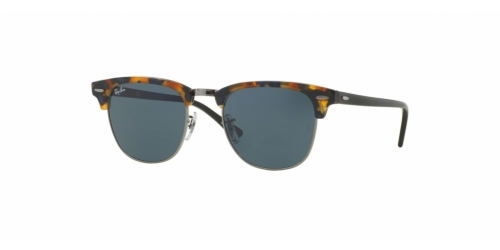 Clubmaster RB3016 Clubmaster RB 3016 1158R5 Spotted Blue Havana
