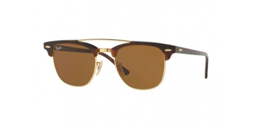 Ray-Ban RB3816 Clubmaster Doublebridge 990/33 Gold