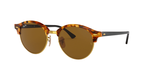 Ray-Ban Ray-Ban RB4246 Clubround 1160 Spotted Brown Havana