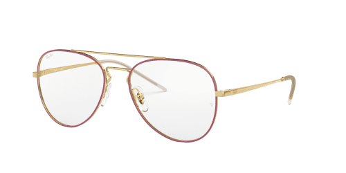 Ray-Ban Ray-Ban RX6413 2982 Gold Top Bordeaux