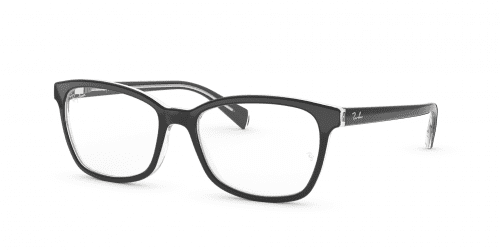 Ray-Ban Ray-Ban RX5362 2034 Top Black on Transparent