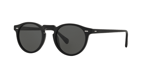 Oliver Peoples GREGORY PECK SUN OV5217S OV 5217S 1031P2 Semi Matte Black