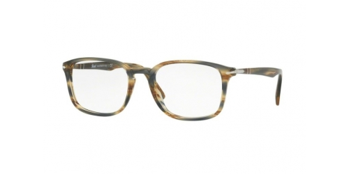 Persol PO3161V PO 3161V 1049 Striped Brown Grey