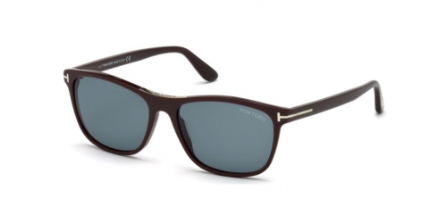 Tom Ford Nicolo-02 TF0629 48V Shiny Dark Brown