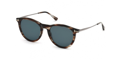 Tom Ford Kellan-02 TF0626 50W Dark Brown/Blue