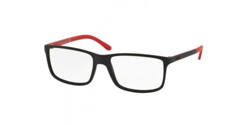 Polo Ralph Lauren PH 2126 5504 Matte Black/Red