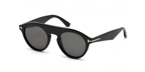 Tom Ford Christopher-02 TF0633 01A Shiny Black/Smoke