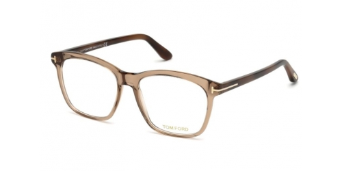 Tom Ford TF5481-B Blue Control TF 5481-B 045 Shiny Light Brown