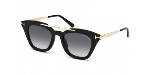 Tom Ford Anna-02 TF0575 01B Shiny Black