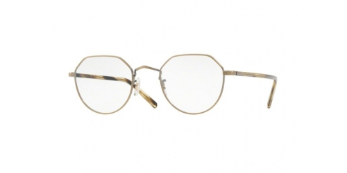 Oliver Peoples OP-43 30TH JAPANESE TITANIUM OV1228T OV 1228T 5124 Antique Gold