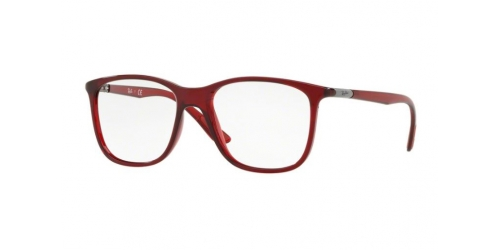 343a2af63c3 Ray-Ban RayBan RX7143 5773 Transparent Red
