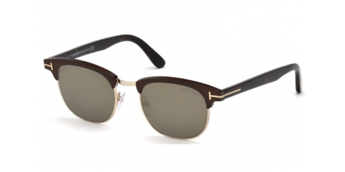 Tom Ford LAURENT-02 TF0623 49C Matte Dark Brown