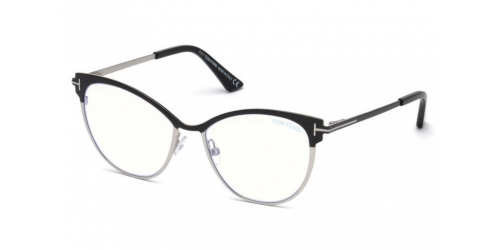 Tom Ford TF5530-B Blue Control TF 5530-B 005 Black/Silver