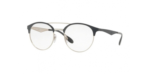 Ray-Ban RX3545V RX 3545V 3004 Silver on Top Grey