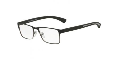 Emporio Armani EA1052 3094 Black Rubber/Matte Gunmetal