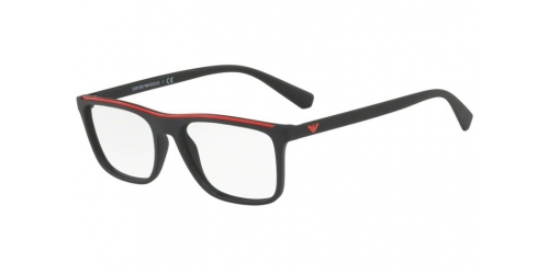 8f34ca1de8e7 Emporio Armani EA3124 5042 Matte Black Red