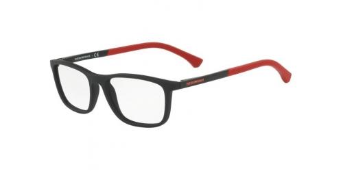 00def7a94128 Emporio Armani EA3069 5649 Black Rubber Red