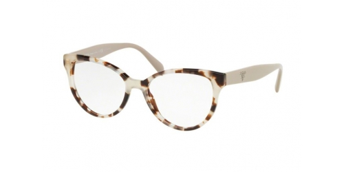 Prada PR01UV PR 01UV UAO1O1 Spotted Opal Brown