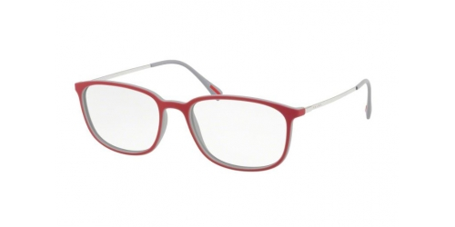 Prada Linea Rossa PS03HV Spectrum PS 03HV VY11O1 Top Red/Grey Rubber